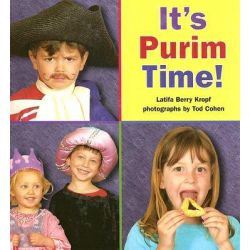 It's Purim Time! by Latifa Berry Kropf, 9781580131537.