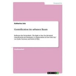 Bücher: Gentrification im urbanen Raum  von Katharina Jutz