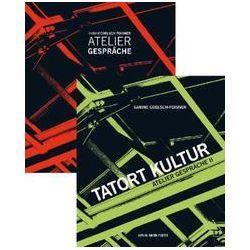 Bücher: Atelier Gespräche und Tatort Kultur: Atelier Gespräche 1+2