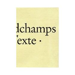 Bücher: Marc Desgrandchamps: Textes, Texte, Texts  von Marc Desgrandchamps