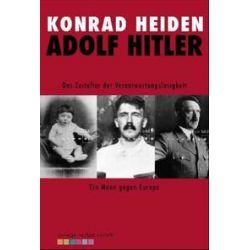 Bücher: Adolf Hitler  von Konrad Heiden