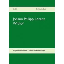 Bücher: Johann Philipp Lorenz Withof