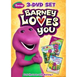 Barney: Barney Loves You (3 Pack) (DVD)