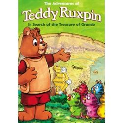 Adventures Of Teddy Ruxpin, The: In Search Of The Treasure Of Grundo (DVD 1987)