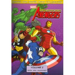 Avengers, The: Earth's Mightiest Heroes! - Volume 3 (DVD 2011)
