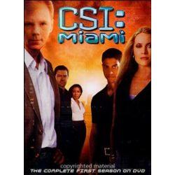 CSI: Miami - The Complete First Season (DVD 2002)