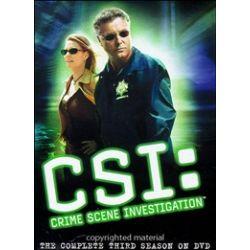 CSI: Crime Scene Investigation - The Complete Third Season (DVD 2002)