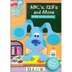 Blue's Clues: ABC's, 123's And More DVD Collection (DVD 2004)