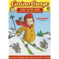 Curious George: Plays In The Snow (DVD 2007)