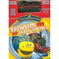 Chuggington: Brewster Leads The Way (With Toy Train) (DVD 2014)