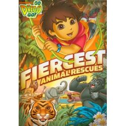 Go Diego Go!: Fiercest Animal Rescues! (DVD 2011)