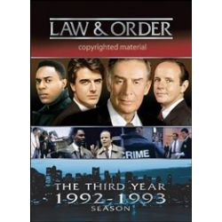 Law & Order: The Third Year (DVD 1992)