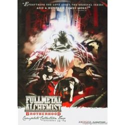 Full Metal Alchemist Brotherhood: Complete Collection Two (DVD)