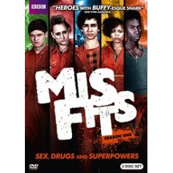 Misfits: Season One (DVD 2009)