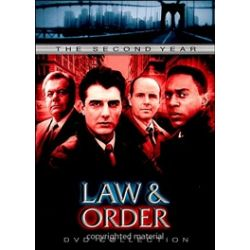 Law & Order: The Second Year (DVD 1991)