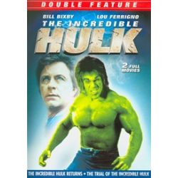 Incredible Hulk Returns, The / The Trial Of The Incredible Hulk (Double Feature) (DVD)