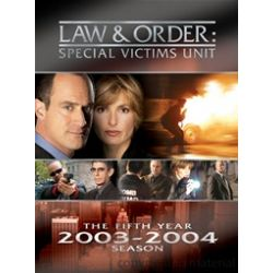 Law & Order: Special Victims Unit - The Fifth Year (DVD 2003)