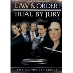 Law & Order: Trial By Jury - The Complete Series (DVD 2005)