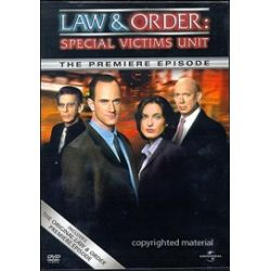 Law & Order: Special Victims Unit - The Premiere Episode (DVD 2003)