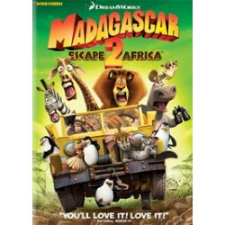 Madagascar: Escape 2 Africa (Widescreen) / Nickelodeon's Penguins Of Madagascar (2 Pack) (DVD 2008)