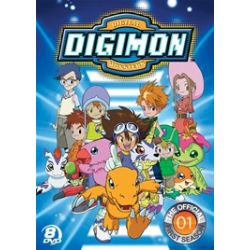 Official Digimon Adventure Set, The: The Complete First Season (DVD 1999)