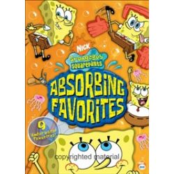 SpongeBob SquarePants: Absorbing Favorites (DVD 2005)