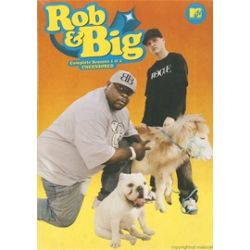 Rob & Big: The Complete Seasons 1 & 2 - Uncensored (DVD 2006)