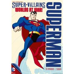 Superman Super-Villains: Worlds At War! (DVD)