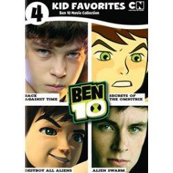4 Kids Favorites: Ben 10 Movies (DVD)