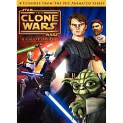 Star Wars: The Clone Wars - A Galaxy Divided (DVD 2008)