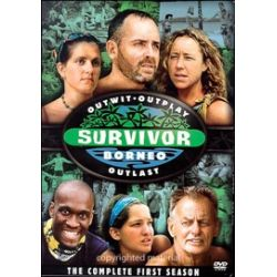 Survivor: Borneo - The Complete First Season (DVD 2004)
