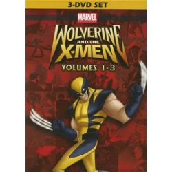 Wolverine And The X-Men: Volumes 1-3 (DVD)