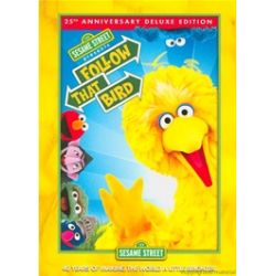 Sesame Street: Follow That Bird - 25th Anniversary Deluxe Edition (Repackage) (DVD 1985)