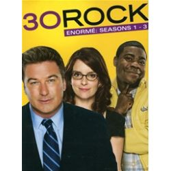 30 Rock: Enorme - Seasons 1 - 3 (DVD 2006)
