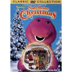 Barney: Night Before Christmas (DVD 1999)
