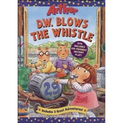 Arthur: D.W. Blows The Whistle (DVD 1996)