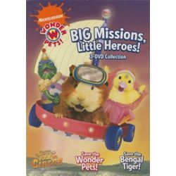Wonder Pets: Big Missions, Little Heroes! 3 DVD Collection (DVD 2008)
