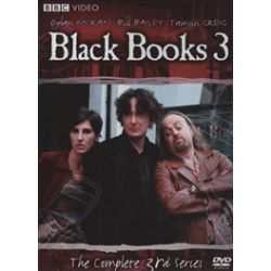 Black Books: The Complete Third Series (DVD 2004)