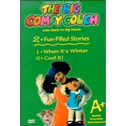 Big Comfy Couch: When It's Winter / Cool It! (DVD 2004)