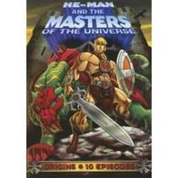 He-Man And The Masters Of The Universe: Origins (DVD 2002)
