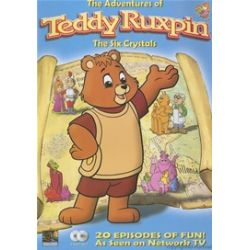 Adventures Of Teddy Ruxpin, The: The Six Crystals (DVD 1986)