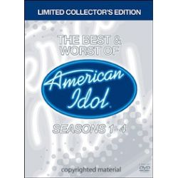 Best And Worst Of American Idol, The: Seasons 1 - 4 (DVD 2005)