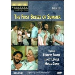 Broadway Theatre Archive: First Breeze Of Summer, The (DVD 1976)