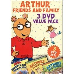 Arthur: Friends and Family 3 DVD Value Pack (DVD 2003)