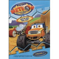 Bigfoot Presents Meteor And The Mighty Monster Trucks: Let's Go, Go, Go! - Volume 2 (DVD 2007)