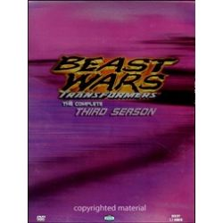 Beast Wars Transformers: Complete Third Season Boxed Set (DVD 1998)
