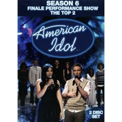 American Idol: Season 6 Finale Performance Show - The Top 2 (DVD 2008)