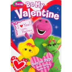 Barney: Be My Valentine: (Valentine's Day Faceplate + Cards + DVD) (DVD)