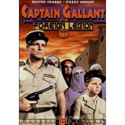 Captain Gallant Of The Foreign Legion: Volume 1 (DVD 1955)