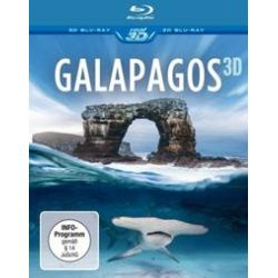 Film: Galapagos 3D  mit 3d Blu-Ray Disc